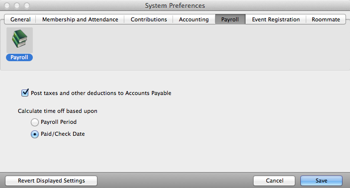 Trigger Accounts Payable to automatically create invoices for withholdings