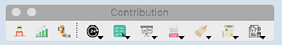 Contributions Toolbar - Giv. Unit Icon