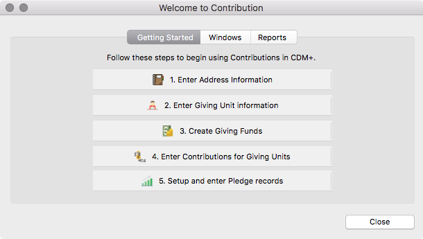 Welcome to CDM+ Contributions