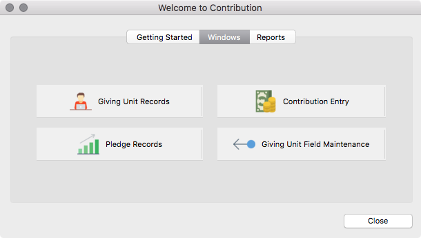 Welcome to CDM+ Contributions - Windows Pane