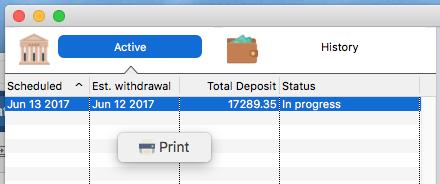 Printing Smart Lists